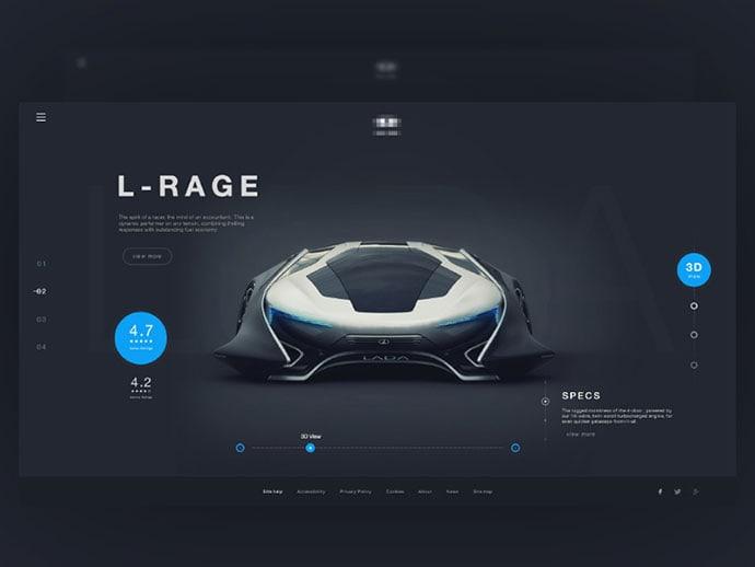 product-slider-ui-design